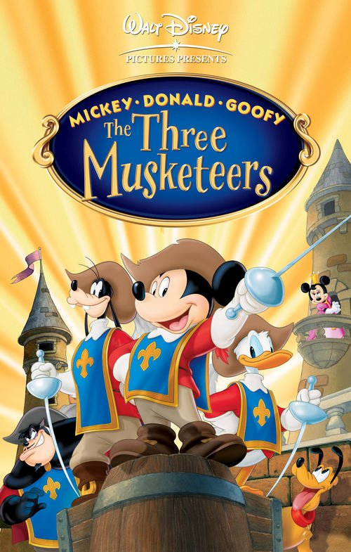 mickey donald and goofy the three musketeers cornel