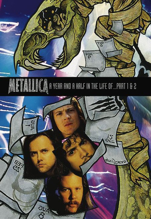 Metallica A Year and a Half in the Life of... Part 1