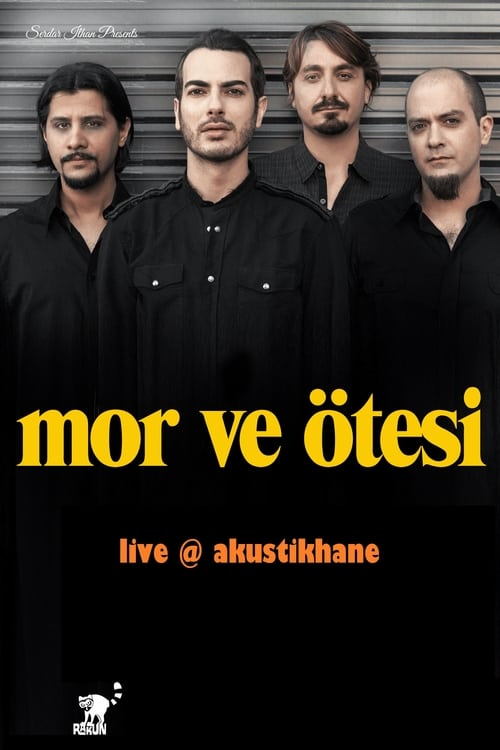 Mor ve Otesi Live On Akustikhane